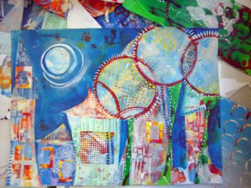 Vanessa's painting