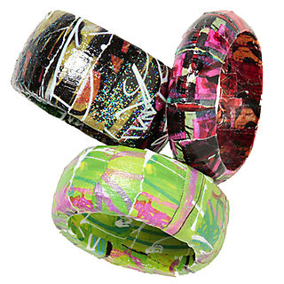 Collage pauge bracelets