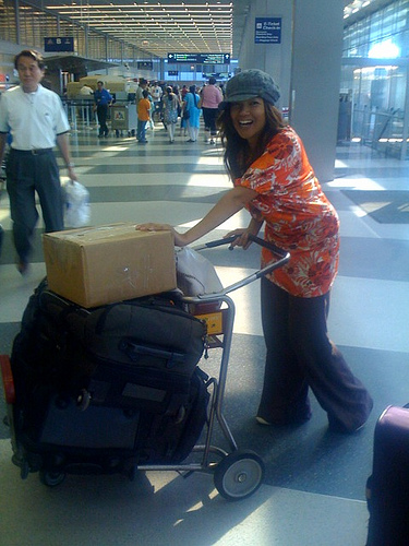 Me& my luggage
