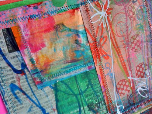 graffiti art quilt journal by traci bautista