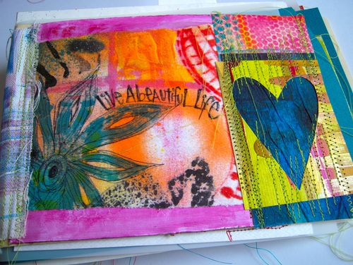 LIVE a beautiful life art journal