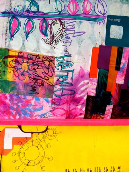 art journal creative jumpstarts