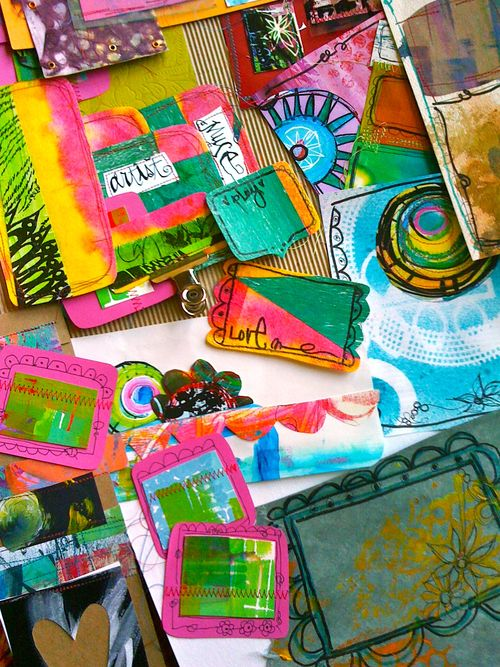 art journaling kits by traci bautista