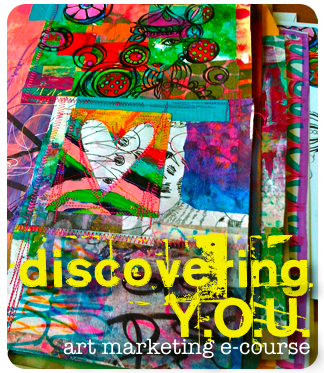 discovering Y.O.U. {art marketing e-course}