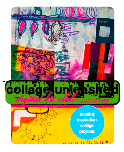 collage unleashed digital kit club by traci bautista