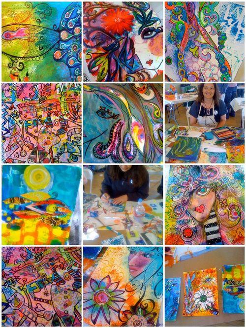ARTFEST 2010 creative doodles workshop
