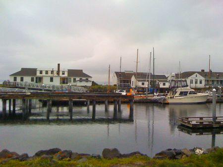 the view from our house in port townsend WA