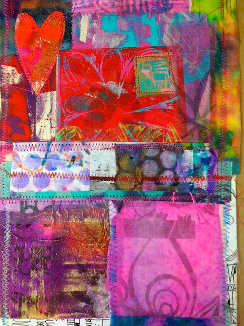 prints, patches & stitches art quilts