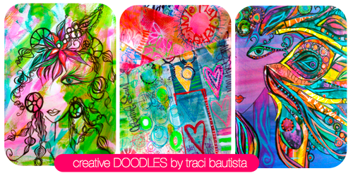 creative doodles online workshop by traci bautista