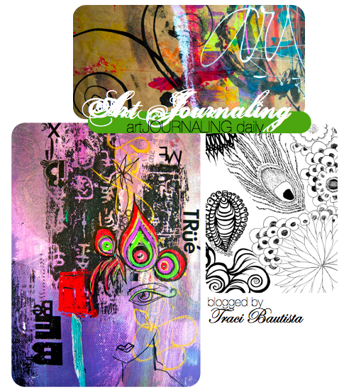 doodles, collage and scribbles traci bautista art journals