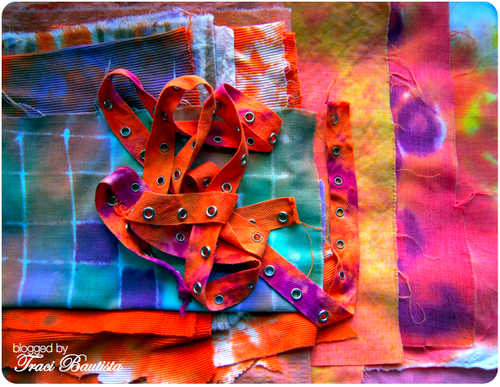 hand dyed fabric by traci bautista