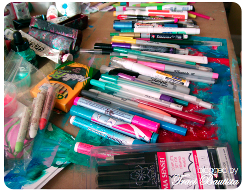 my fave art journaling pens & markers