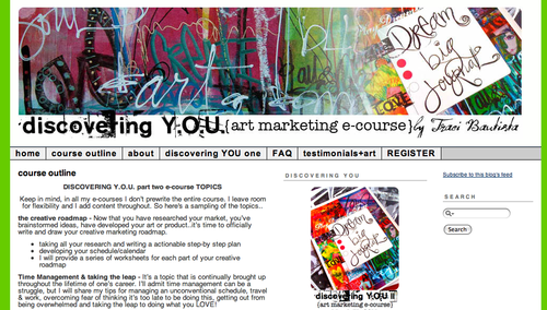 discovering YOU website