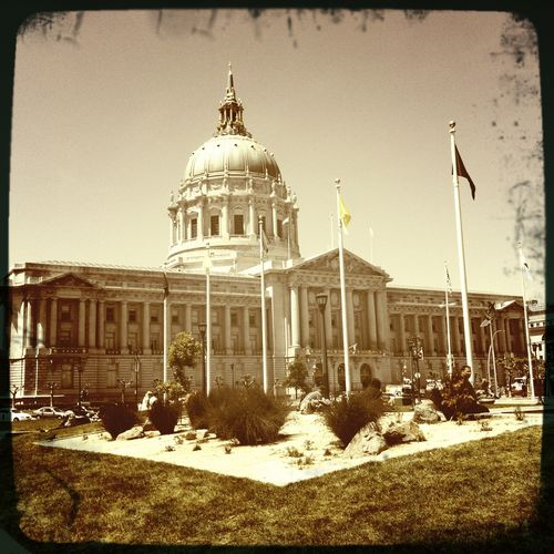 gorgeous day in SF