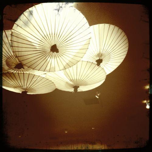 umbrellas at akira