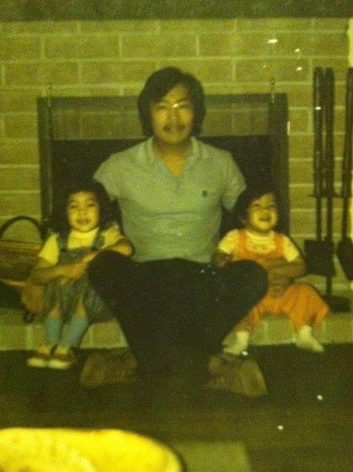 me, papa & dude 1976