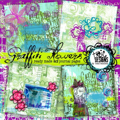 Traci_bautista_graffitiFLOWERS_artjournalpage_preview600
