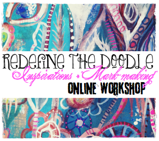 redefine the doodle inspirations + mark-making