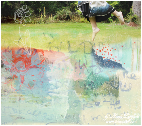 leap collage by mindy lacefield