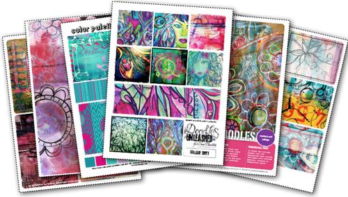 Doodles_unleashed_digital_collage_kit