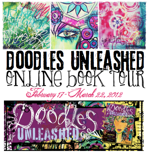 doodles unleashed online book tour header