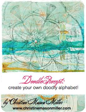 christine's doodle jumpstart card