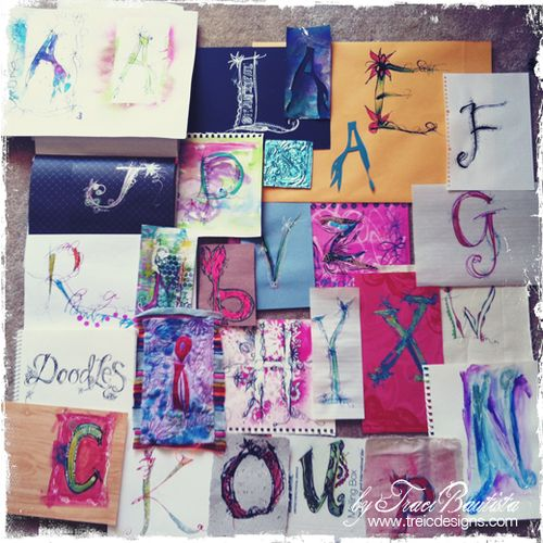Hand_drawn letters