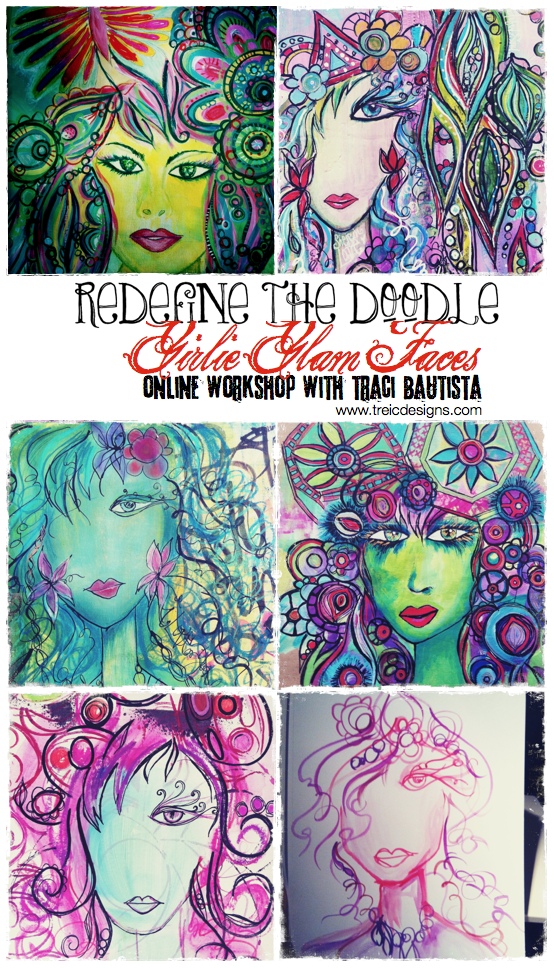 girlie glam faces online workshop by traci bautista