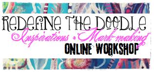 redefine the doodle inspirations + mark-making