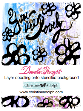 christine adolph doodle prompt