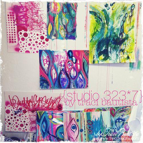 studio wall {studio 323*7} by traci bautista
