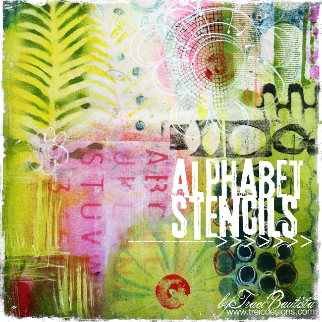 artJOURNALINGdaily_alphabet_stencils1by traci bautista