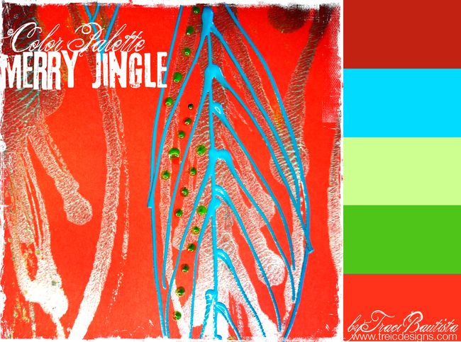 ArtJOURNALINGdailyHOLIDAYcolorMARKSpalette_byTraciBautista