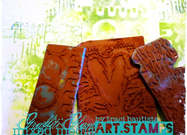GraffitiGLAM_ARTstamps_byTraciBautista7
