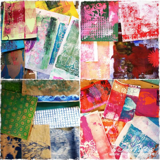 ColorJOURNALloveRetreat by Traci Bautista -PLEXIprintmaking