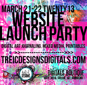 treiCdesigns DIGITALS website launch