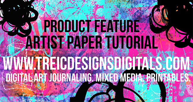 TreiCdesigns-product-feature-mixed-media-artist-papers