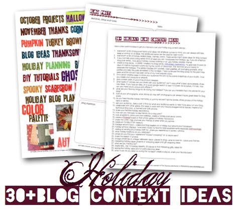 AUTUMN creative business CAMP digital downloads & pdf workbooks