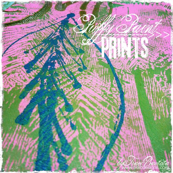 Puffy Paint Prints Creativityunleashed By Traci Bautista