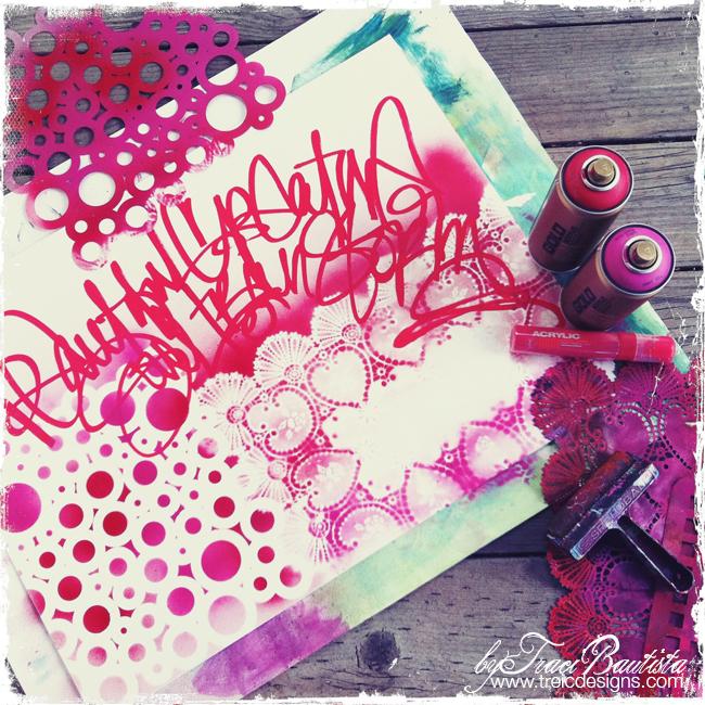 ArtJOURNALINGdailyHOLIDAYlove_redPINK2_byTraciBautista
