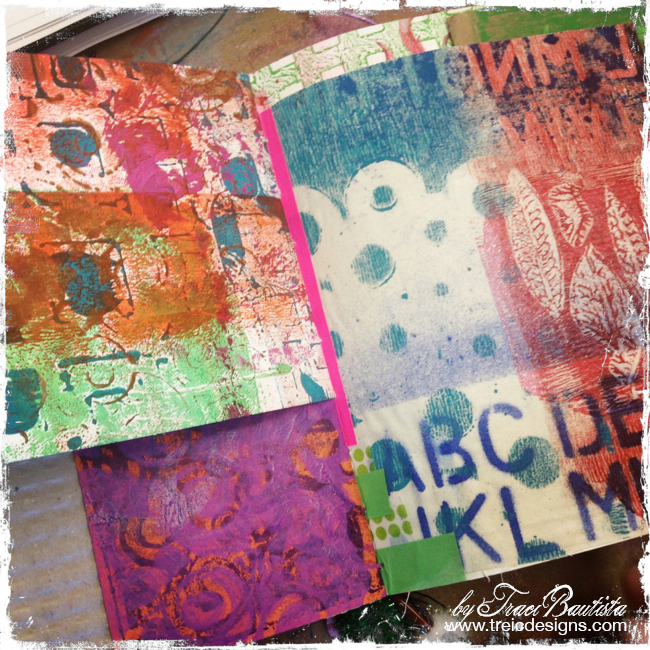 ColorJOURNALloveRetreat by Traci Bautista -steffi's art journal