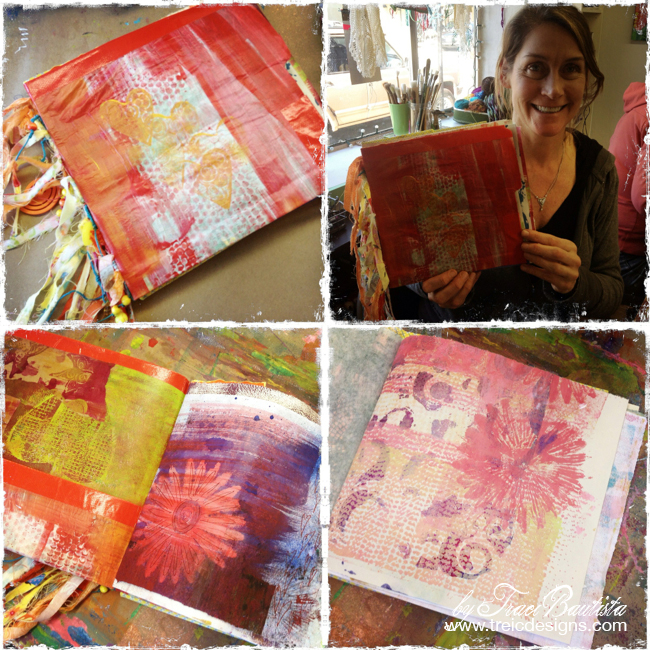 ColorJOURNALloveRetreat by Traci Bautista - art by stacey