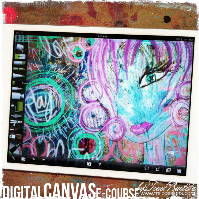DigitalCAVAS_digital_art_journaling_byTraciBautista