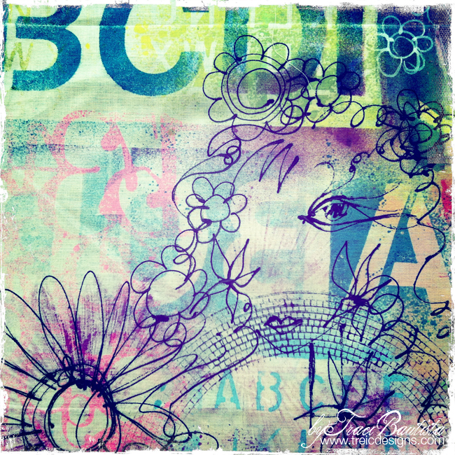 artJOURNALINGdaily_alphabet_stencils12_by traci bautista