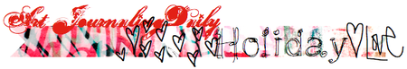 artJOURNALING daily: HOLIDAY LOVE