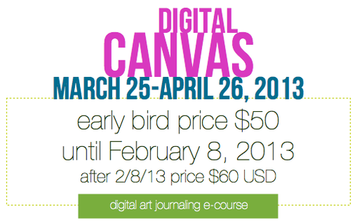 digital canvas ecourse by traci bautista
