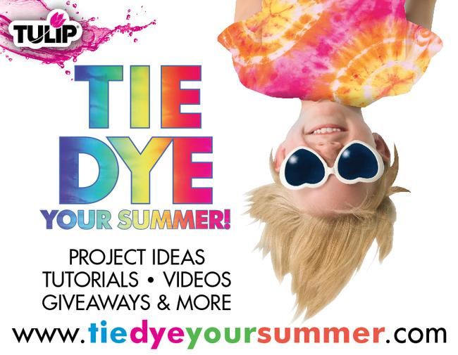 Tie dye your summer info
