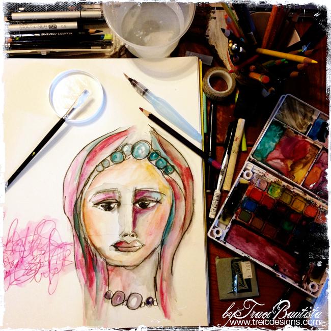 ArtJOURNALINGfridays_oct13h_by_Traci_Bautista