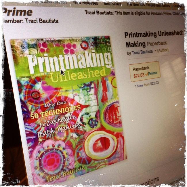 PrintmakingUnleashed_byTraciBautista on amazon