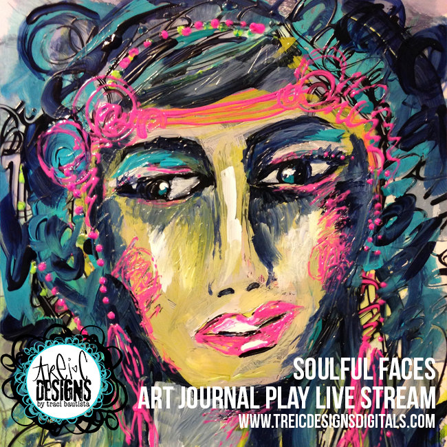 Art-journal-PLAY_soulfulFACES_by-traciBautista